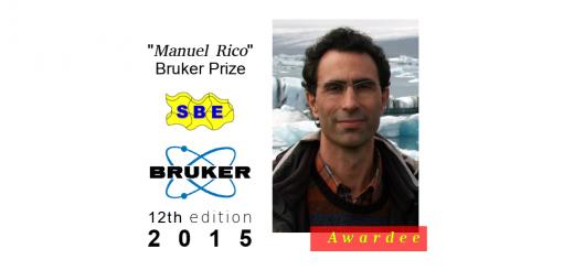 Manuel Rico - Bruker Prize 2015
