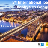 5th International Iberian Biophysics Congress. Porto, June 15-17, 2016.