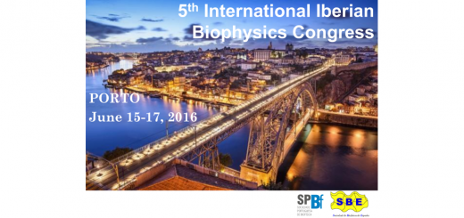 5th International Iberian Biophysics Congress. Porto, June 15-17, 2016.