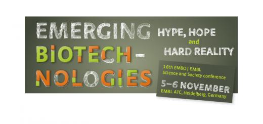 Emerging Biotechnologies, 5-6 November EMBL Heidelberg