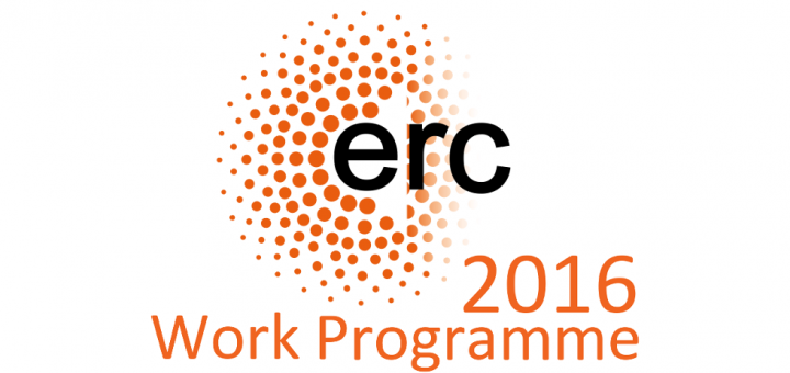 ERC Annual Work Programme 2016