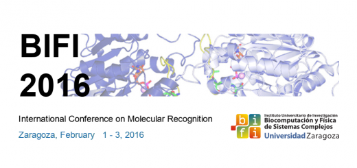 BIFI 2016: International Conference on Molecular Recognition (february 1-3, 2016)