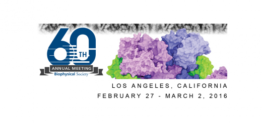 60th Biophysical Society Annual Meeting, Los Angeles Feb. 27 - Mar. 2, 2016