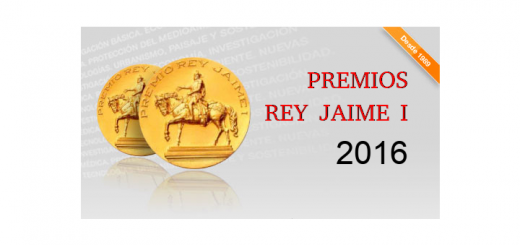 Rey Jaime I Prizes - Premios Rey Jaime I - Call for Nominations 2016