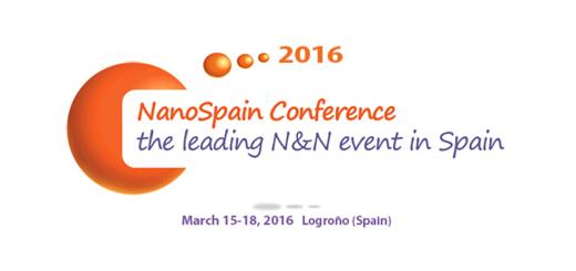 NanoSpain 2016. March 15-18 Logroño, Spain