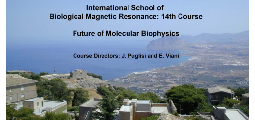 14th International School of Biological Magnetic Resonance: Future of Molecular Biophysics