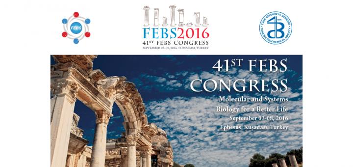 41st FEBS Congress 2016