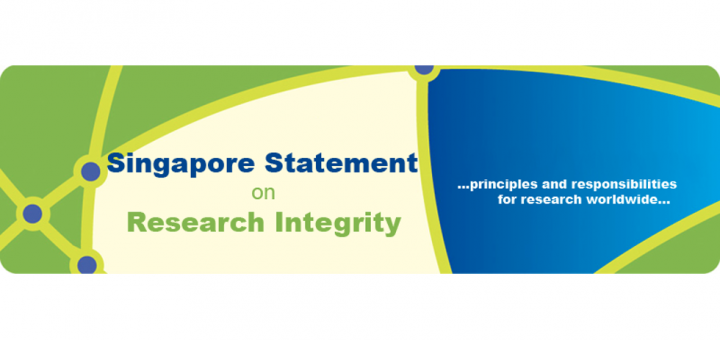 Singapore Statement on Research Integrity
