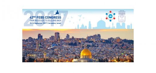 42nd FEBS Congress. Jerusalem, 10-14, September 2017