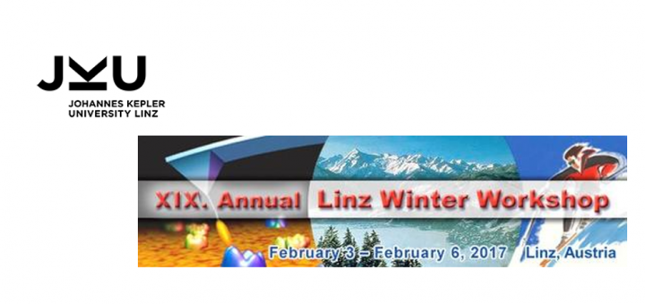 XIX. Annual Linz Winter Workshop. February 3 - February 6, 2017 Linz, Austria. Advances in Single-Molecule Research for Biology & Nanoscience