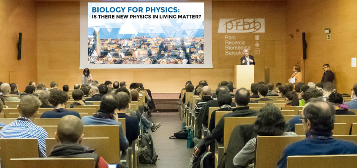 Report on the First Biology for Physics Conference (Barcelona 15-18 January 2017). Felix Ritort(DPL and 1 st BioforPhys conference chair)