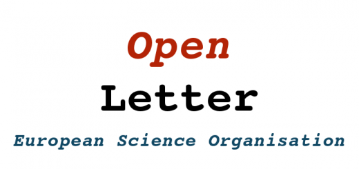 Open Letter from the European Science Organisation: Maintain transparency, open communication and mobility of scholars and scientists