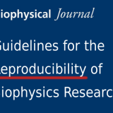 Guidelines for the Reproducibility of Biophysics Research