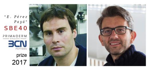 Emilio J. Cocinero and Carlo Manzo, SBE-40 prize 2017