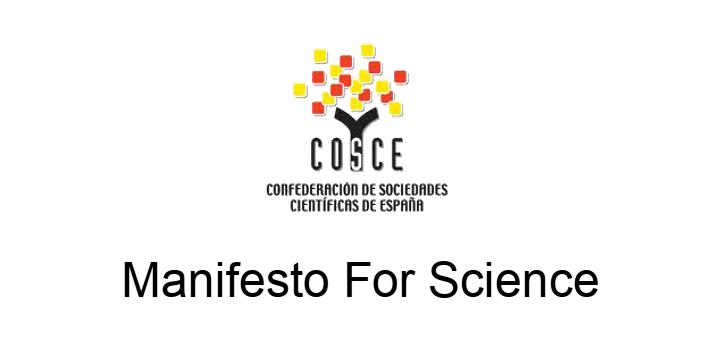 MANIFIESTO POR LA CIENCIA / Manifesto for Science