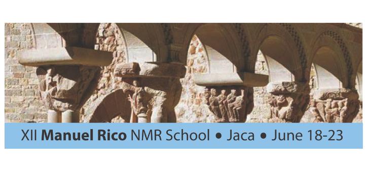 "XII ""Manuel Rico"" NMR School. 18th-23th June 2017, Jaca"