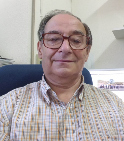 "Professor Francisco (""Paco"") Montero. Universidad Complutense de Madrid, 2017."