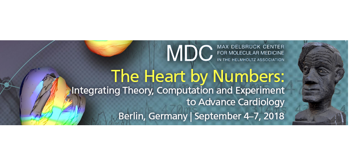 The Heart by Numbers: Integrating Theory, Computation and Experiment to Advance Cardiology September 4-7, 2018 Berlin, Germany